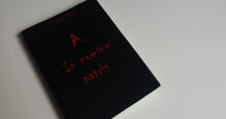 A – In nomine Patris