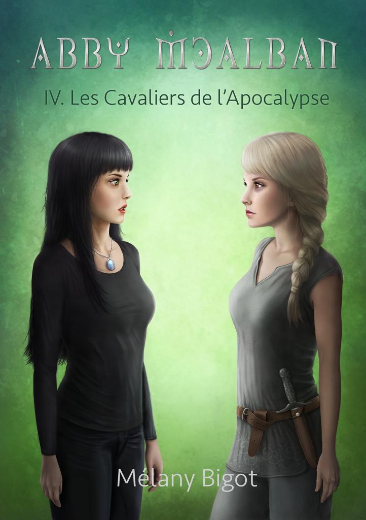 Couverture Abby McAlban Les Cavaliers de l'Apocalypse