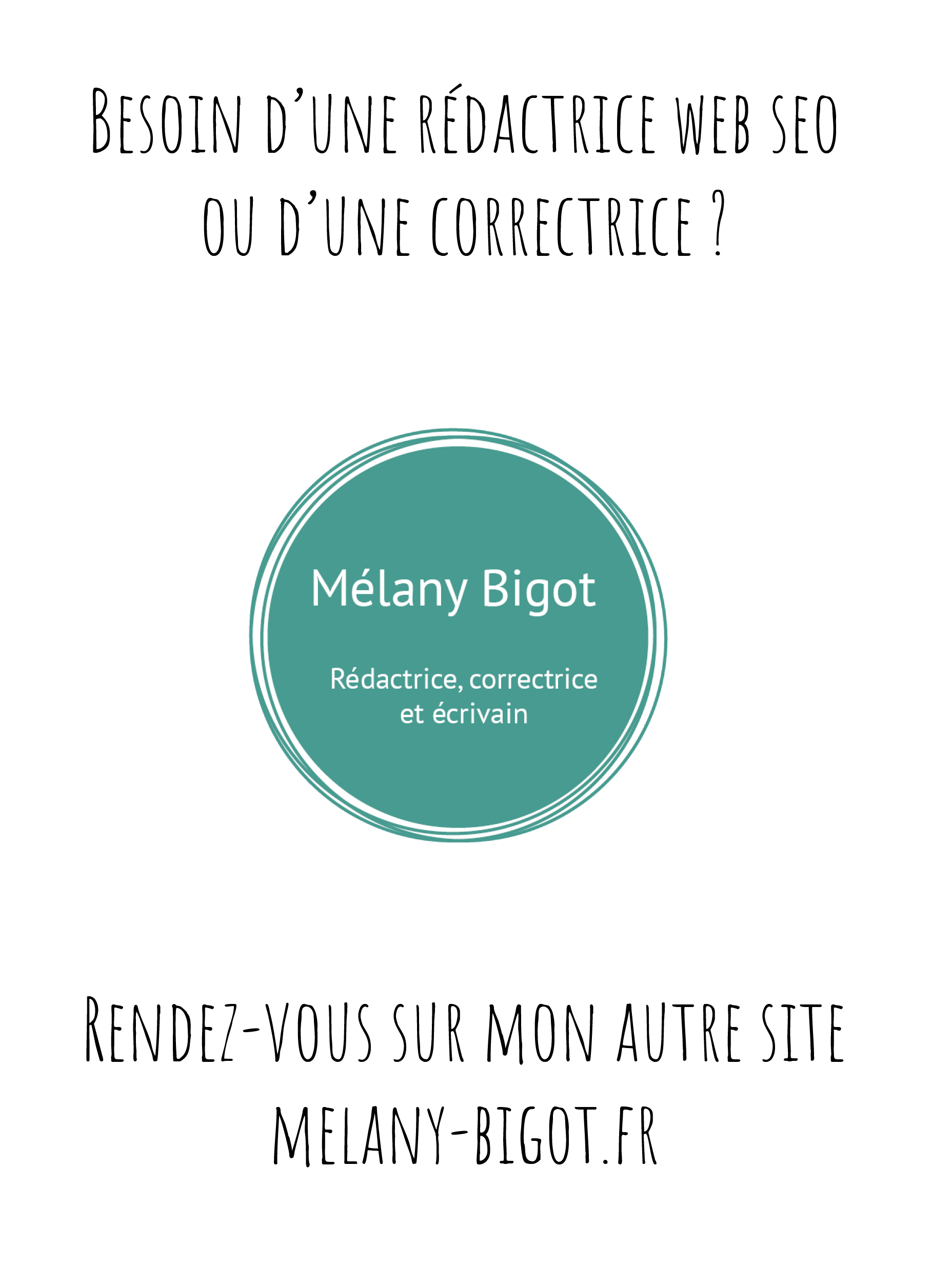 Site professionnel Mélany Bigot