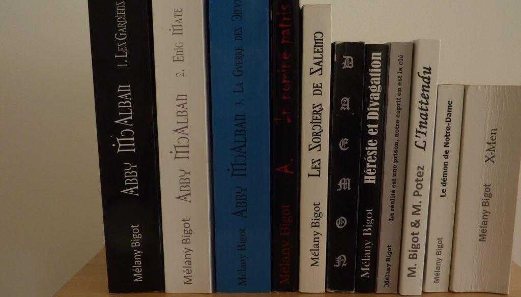 Bibliographie Mélany Bigot