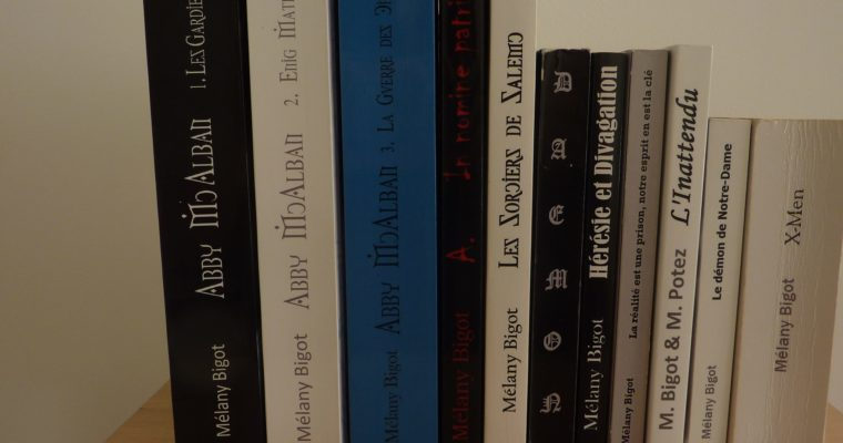 Ma bibliographie complète d'écrivain