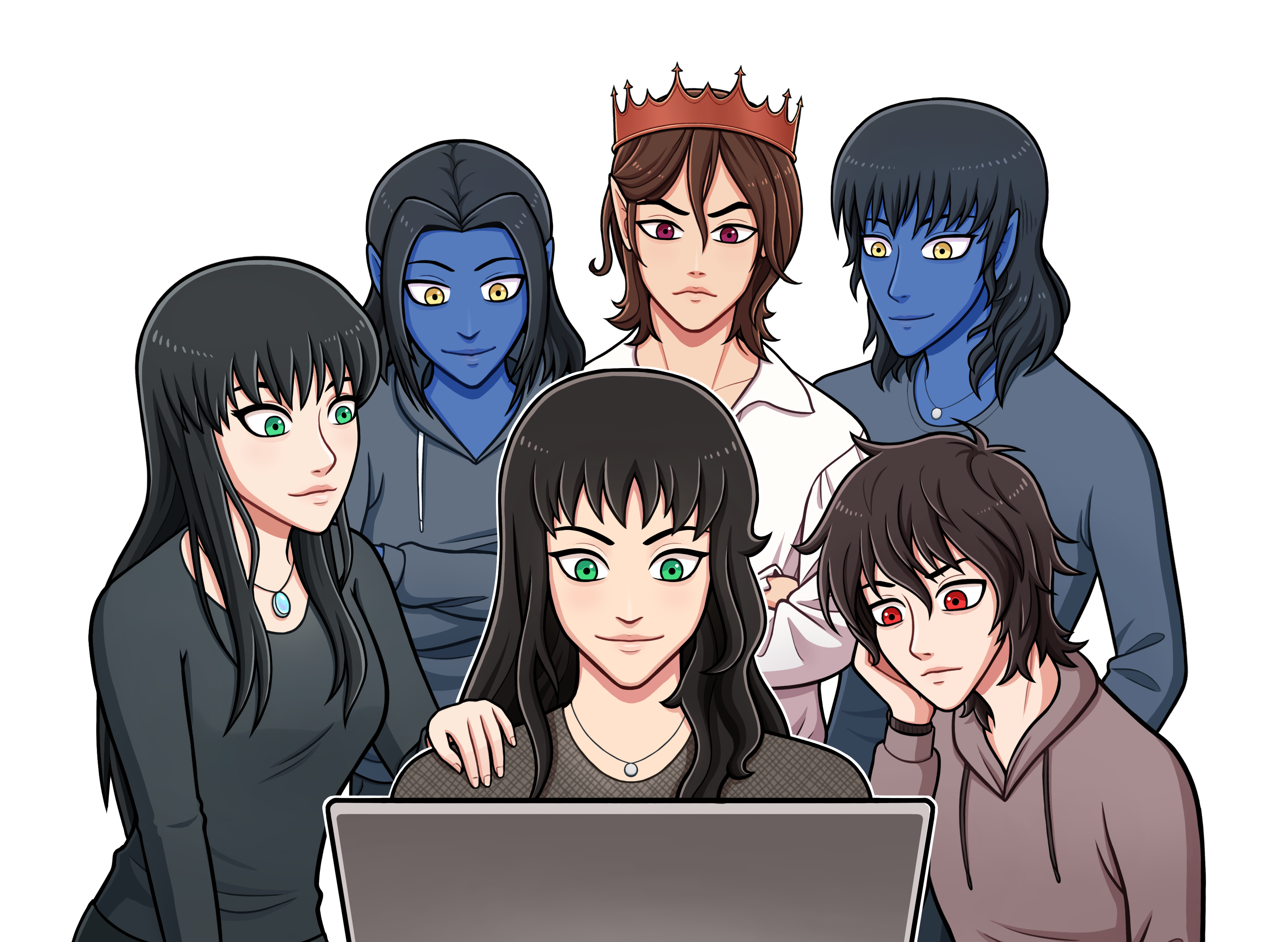 Et si vous rencontriez vos personnages de roman ?